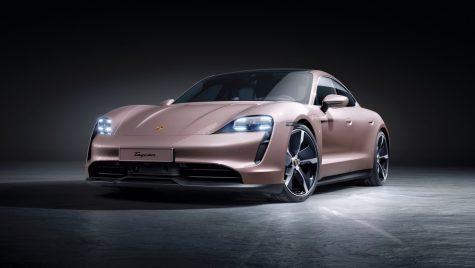 Porsche mărește gama modelului electric Taycan cu o versiune 2WD