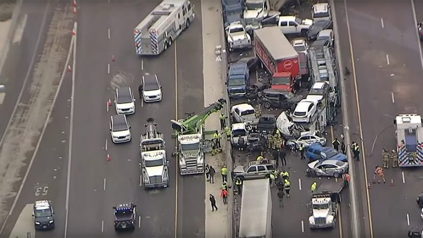 Accident în lanț autoexpert.ro