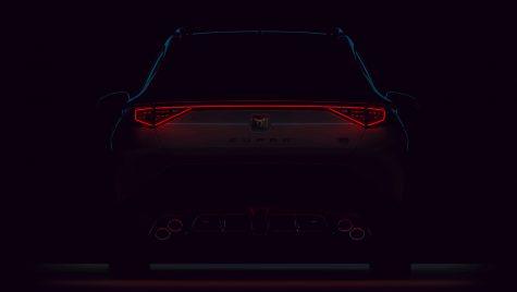 Cupra Formentor VZ5: teaser pentru versiunea de top