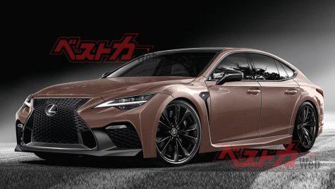 Trei noi modele sport Lexus F