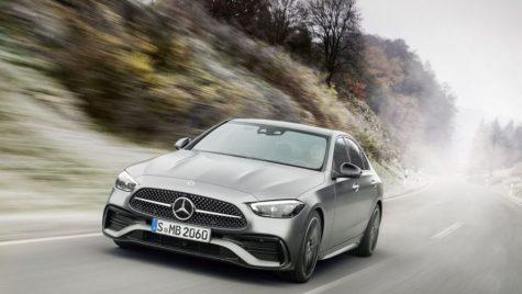 Mercedes-Benz Clasa C: noua generație împrumută designul Clasei S