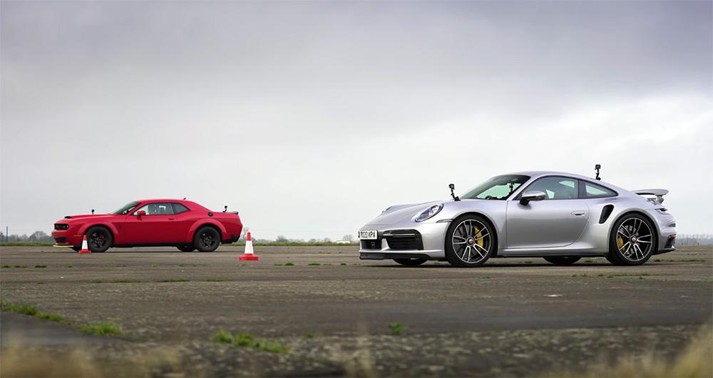Muscle car vs supercar autoexpert.ro