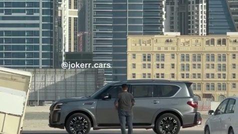 Nissan Patrol Nismo 2022, spionat fără camuflaj