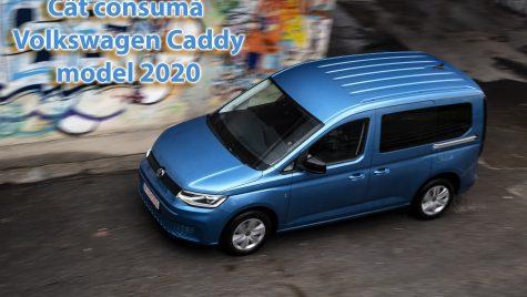 Cât consumă Volkswagen Caddy 5, model 2020