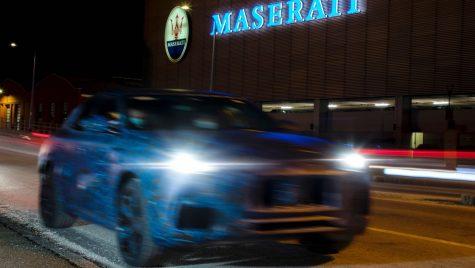 Primele imagini teaser cu noul SUV Maserati Grecale