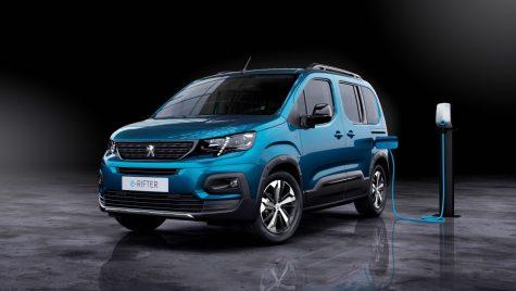 Peugeot e-Rifter: nou model electric în gama de utilitare ușoare a grupului PSA