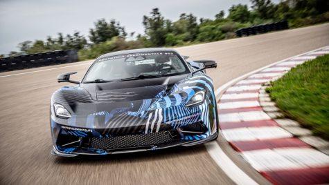 Pininfarina Battista: prototipul supercarului italian este testat de Nick Heidfeld