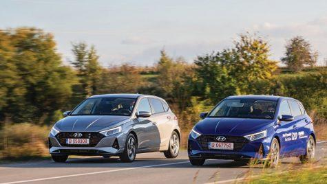 Test Hyundai i20 1.2/84 CP și 1.0/100 CP: Dublu impact
