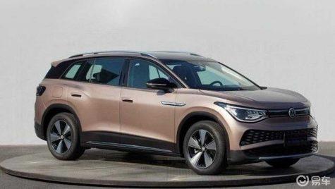 Volkswagen ID.6: primele imagini neoficiale dezvăluite în China