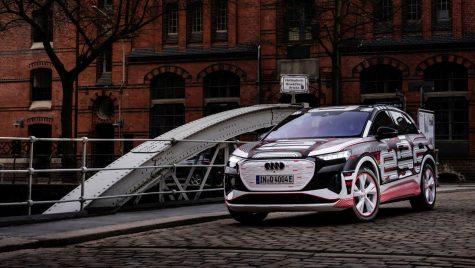 Uzina grupului Volkswagen din Zwickau a început asamblarea modelului Audi Q4 e-tron