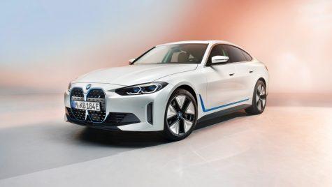BMW i4: primele imagini și informații oficiale