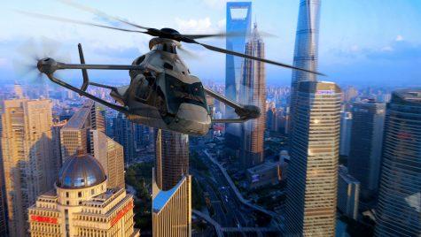 Structura centrală a elicopterului experimental RACER este realizată în România