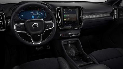Sistem multimedia Android pentru gama Volvo