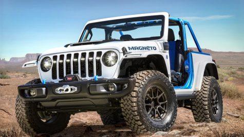 Conceptul Magneto anunță viitorul Jeep Wrangler electric