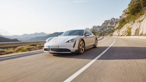 Porsche ar putea lansa și o versiune coupe a modelului Taycan