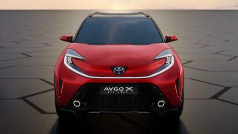Toyota Aygo X Prologue Concept anunță un viitor crossover în segmentul mini