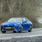 Record: Toyota Mirai a parcurs peste 1000 km cu un plin de hidrogen