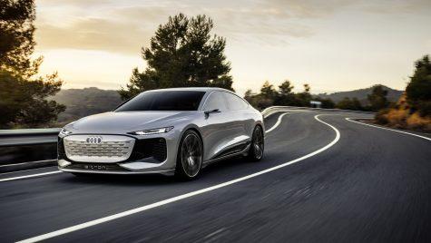 Acesta este Audi A6 e-tron Concept