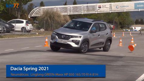Dacia Spring la testul elanului