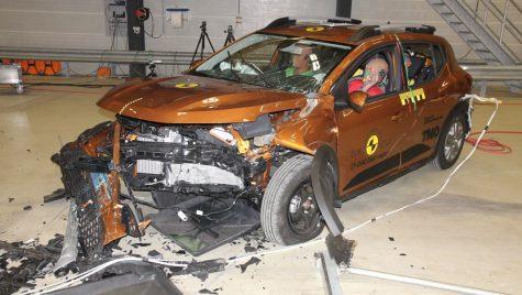 EuroNCAP: 2 stele pentru Dacia Sandero și Logan la testele de siguranță