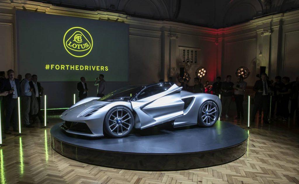 Lotus Cars - Evija