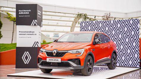 Renault Arkana, în România de la 25.540 euro