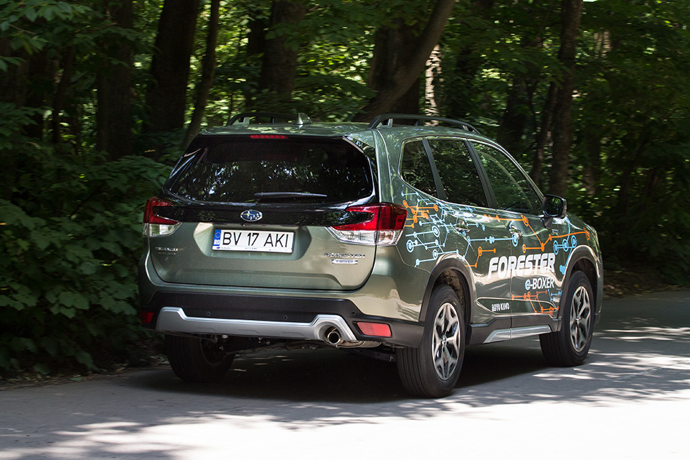 Test drive Subaru SUV autoexpert.ro