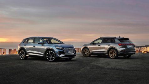 Audi Q4 e-tron: imagini și informații oficiale