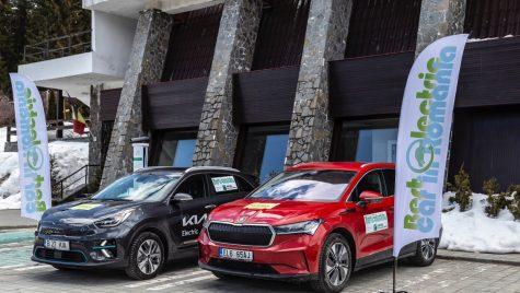 Skoda Enyaq iV este Best Electric Car in Romania 2021