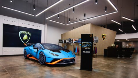 Lamborghini Huracan STO prezentat la București