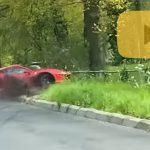 Accident cu Ferrari 488 Pista: video cu momentul imapactului