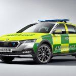 Skoda Octavia Scout va fi folosită de serviciile de urgență din Marea Britanie