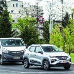 Cu Dacia Spring prin București