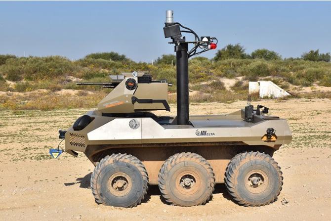 Robot granitele Israelului autoexpert.ro