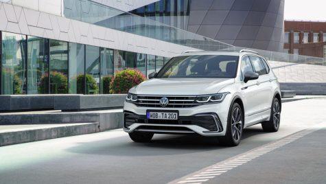 Volkswagen Tiguan Allspace facelift: versiunea cu șapte locuri primește noul look