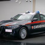Alfa Romeo livrează 1.770 exemplare Giulia pentru Carabinieri
