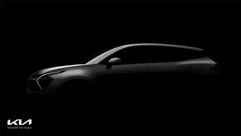 Kia Sportage: primele imagini teaser cu noua generație a SUV-ului coreean