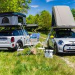 Camping la purtător pentru modelele MINI electrificate