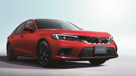 Noua generație Honda Civic: primele imagini cu versiunea europeană