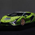 Lamborghini Sian construit din 400.000 piese Lego Technic