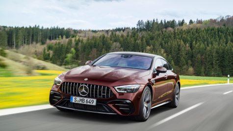 Mercedes-AMG GT 4-Door Coupe: facelift pentru modelul performant
