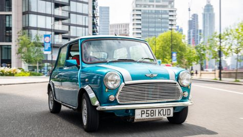 London Electric Cars convertește modelul Mini clasic la propulsie electrică