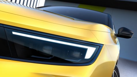 Opel Astra: primele imagini teaser cu noua generație