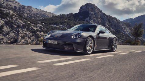 Porsche 911 GT3 Touring: fără eleron supradimensionat