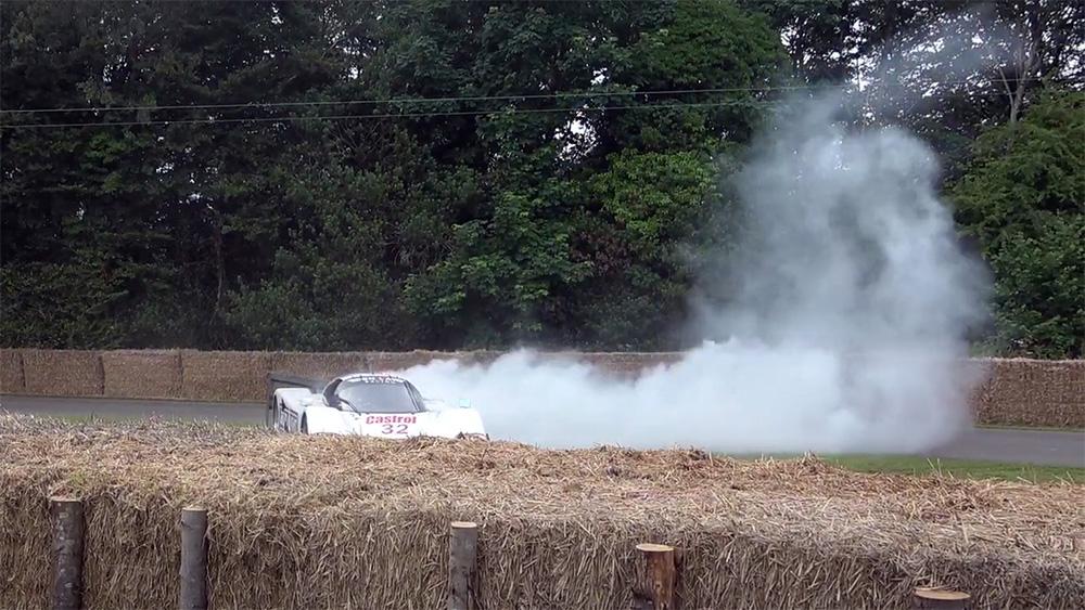 Accident Jaguar XJR-12D Goodwood autoexpert.ro