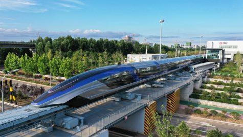 Cel mai rapid tren din lume atinge 600 km/h