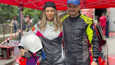Maria Iordănescu a fost copilot în etapa de la Sinaia a Campionatului de Viteză în Coastă
