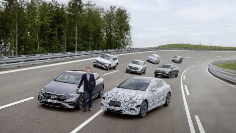 Planurile Mercedes-Benz: 100% electric până în 2030