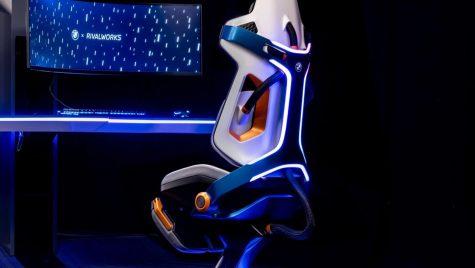 Scaun gaming BMW, cu climatizare și masaj!
