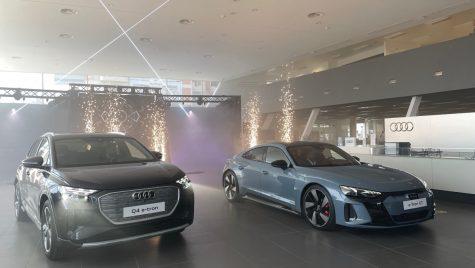 Audi Q4 e-tron și e-tron GT au venit oficial în România
